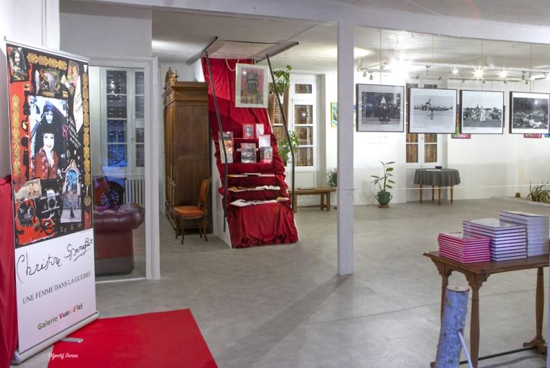 Exposition Christine Spengler - Galerie Vues d'ici - Duras