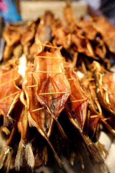 Marché poisson Sibérie