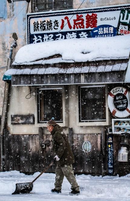 Abshiri Hokkaido Japan winter 1