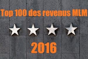 Top 100 des revenus MLM en 2016 : qui gagne le plus d'argent et combien ?