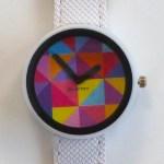 Grid Pink Watch