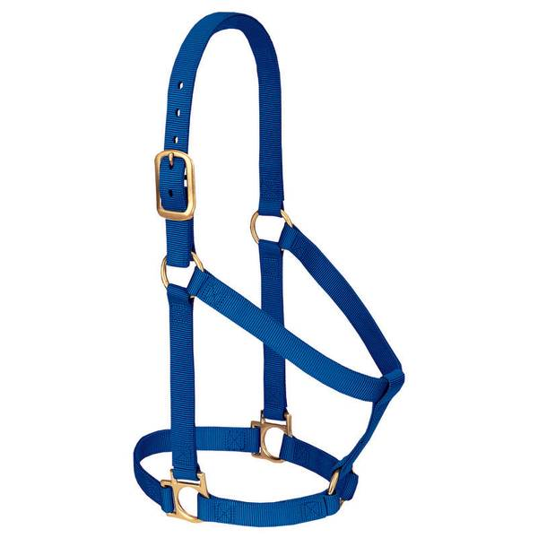 When you're looking for the perfect combination of dependability and value, Weaver Leather Basic Halters are the right choice. With features like brass plated hardware, box-stitching at stress points and oblong buckle holes, this 1