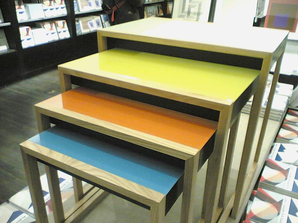 DesignApplause Nesting Tables Josef Albers
