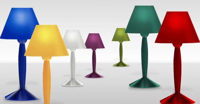 La Lampe De Table Miss Sissi Par Philippe Starck Pour Flos