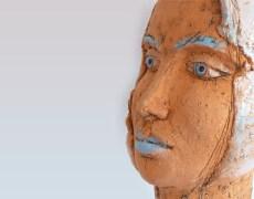 Keramikkurs Kopf und Büste im Juni, Juli 2013