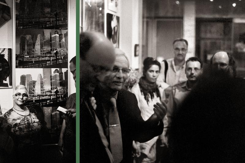 Ausstellungseroeffnung Galerie Hexagone Aachen 03 und 04
