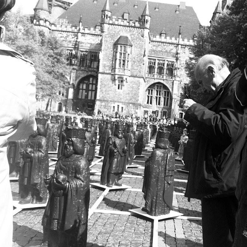 #Kunstinstallation #MeinKarl anlässlich dem #Karlsjahr 2014 in #Aachen. Instagram