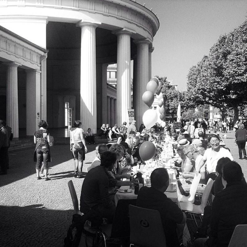 #Inklusion am #Elisenbrunnen: Kaffee und Kuchen mit der #Lebenshilfe, #AktionMensch und co. #Aachen Instagram