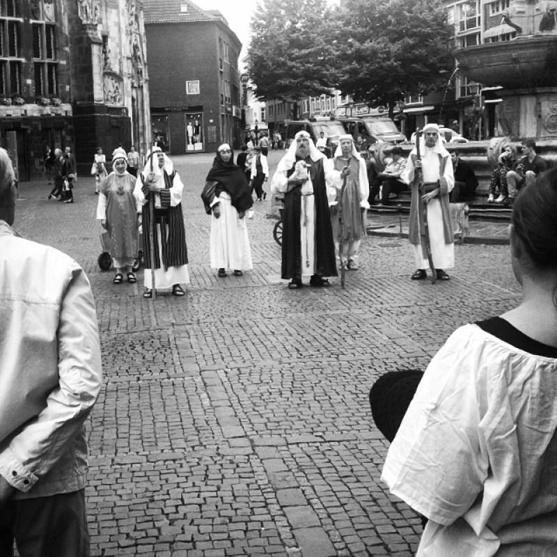 #Abraham bei der #Heiligtumsfahrt #Aachen Instagram