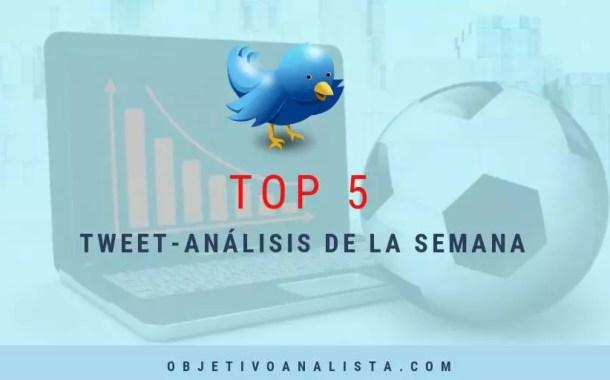 TOP 5: TWEET-ANÁLISIS DE LA SEMANA || 23-09-2017