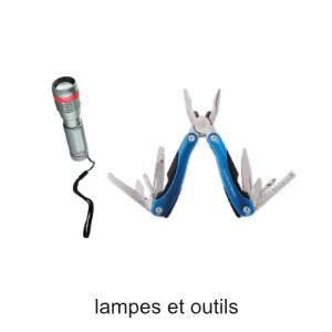 lampes et multi outils