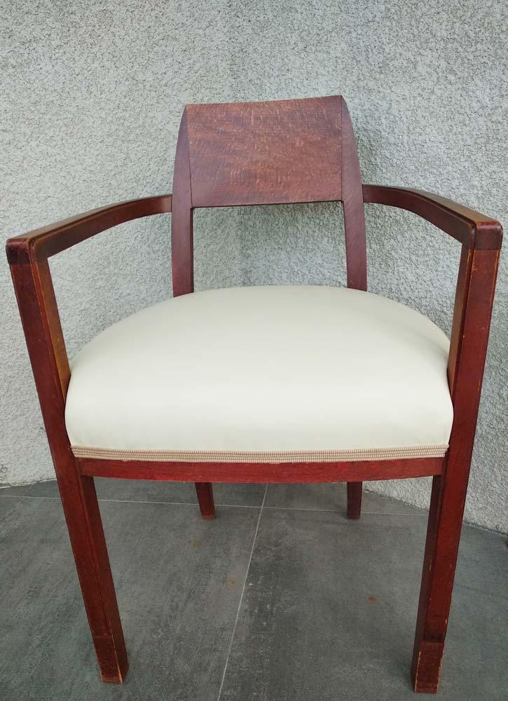 fauteuil ancien revisite art deco