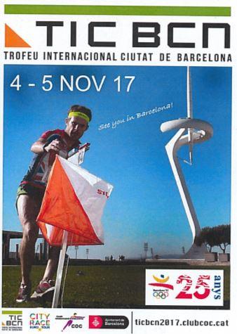 Course d'orientation à Barcelone