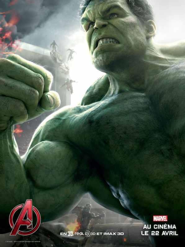AvengersLeredUltron_Affiche_HULK_FRANCE