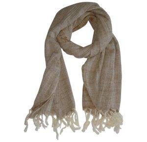 Βαμβακερό Φουλάρι Μπεζ The Project Garments Sahara Beige TPG 0843