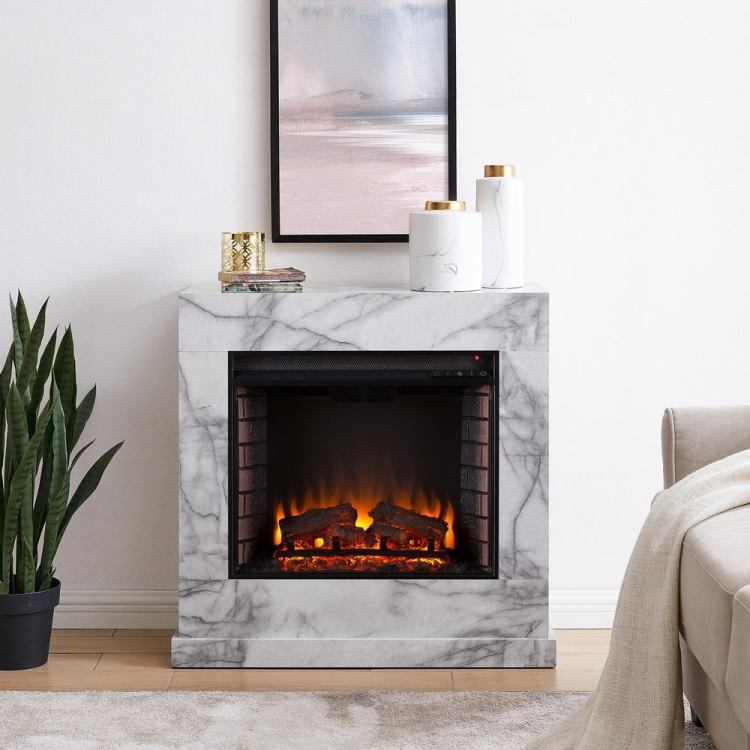 16 Affordable Modern Electric Fireplaces Under 850 Oblique New York