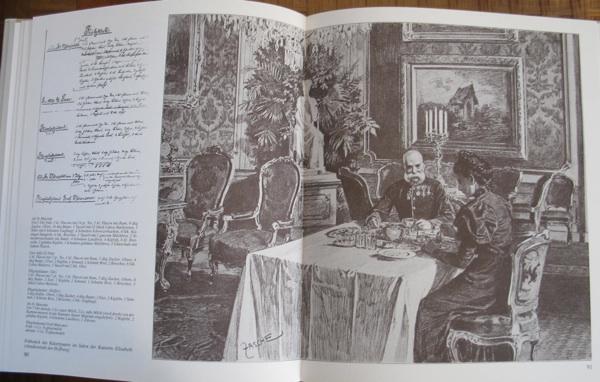 Jedna od knjiga o bečkoj K. unud K. kuhinji