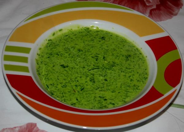 Krem-juha od srijemuša (Fotografija Turistička zajednica Čazma)