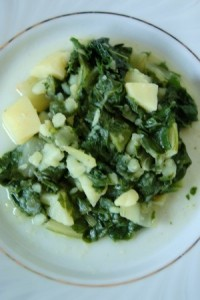 Uobičajeni prilog: blitva s krumpirom (Snimila Marina Filipović Marinshe / Acumen)