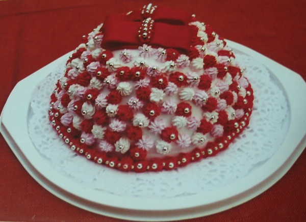 Vesnina torta kloštranska poculica (Fotografija iz dokumentacije Vesne Novosel)