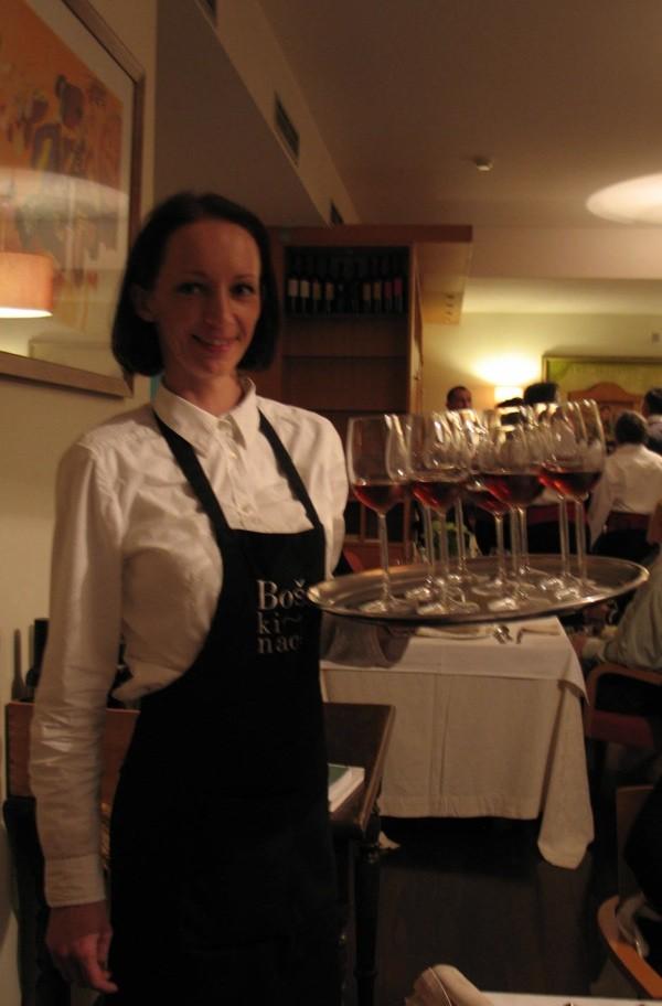 S večere u Boškincu: odlična hrana, lijepo sljubljena s pićima i sjajno poslužena (Snimila Božica Brkan / Acumen)