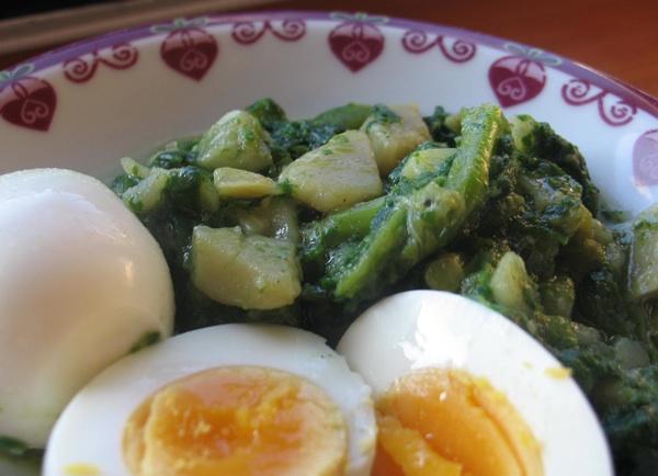 Čimulice s krumpirom i s kuhanim jajima (Snimila Božica Brkan / Acumen)