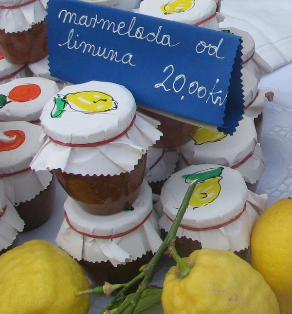 Marmelada od limuna, džem od limunove korice... (Snimila Božica Brkan / Acumen)