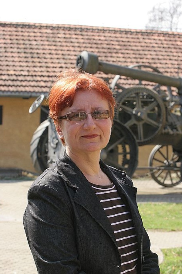 "Etnologinja i autorica teksta Nada Matijaško u krugu ""svog"" muzeja"