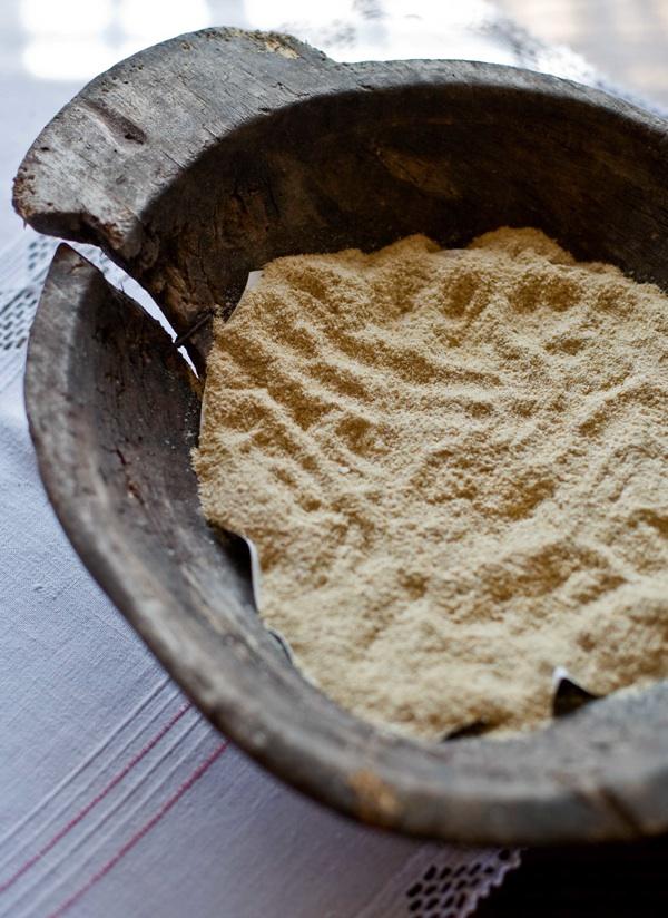 Rucljevo brašno mljeveno na mlinu čekićaru (Snimio Igor Sitar Blue Studio / Acumen)