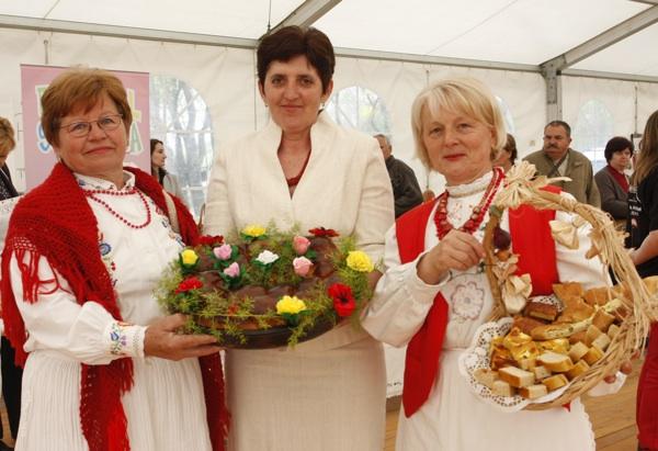 Marija Bračević, Mira Smiljanec i Julijana Šereg Babičine kolače zastupale su odlično na izložbi Slatka Hrvatska u Zagrebu (Snimio Dražen Kopač / Acumen)