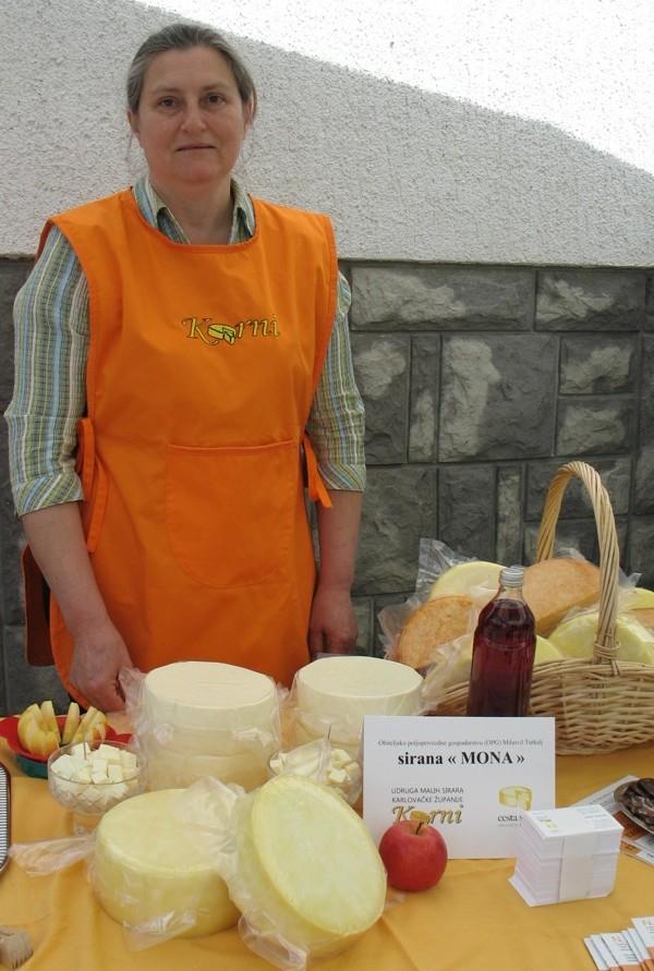 Prezentacija sireva turkaljevih iz njihove Sirane Mona (Snimila Božica Brkan / Acumen)
