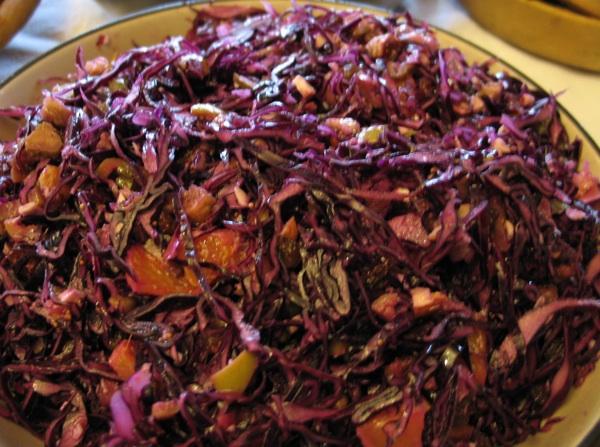 Iznenađujuća salata od crvenog zelja priča je o sjajnoj samostankoj kuhinji (Snimila Božica Brkan / Acumen)