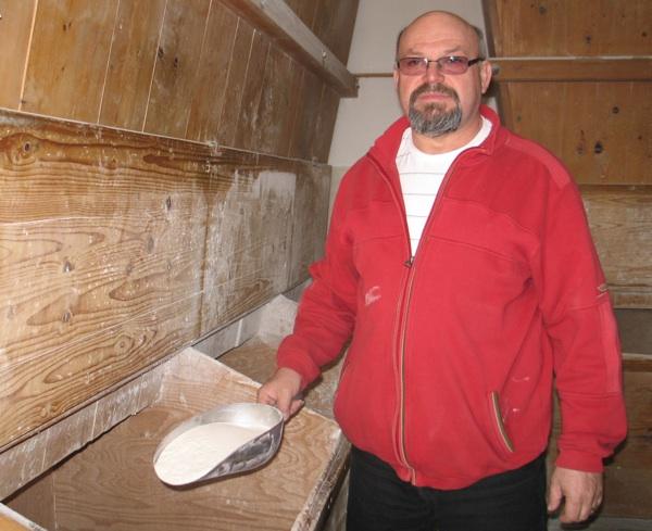 Zdravko Gorički uvijek podsjeća na početak svojih dobrih mlinaca, na obiteljski mlin (Snimila Božica Brkan / Acumen)