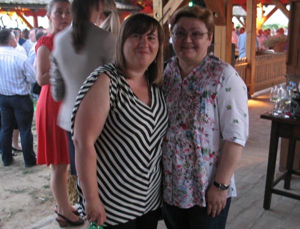Ljiljana Vajda-Mlinaček, direktorica sektora marketinga iturizma Belja d.d., i Božica Brkan, glavna urednica Oblizeka (Fotografija Acumen)