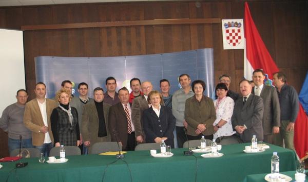 S osnivanja Udruge proizvođača bučina ulja Hrvatske u Ivanić Gradu (Snimila Božica Brkan / Acumen)
