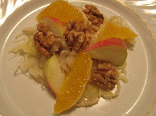 Kiseli kupus slaže se odlično s jabukom, narančom i orasima (Snimila Božica Brkan / Acumen)