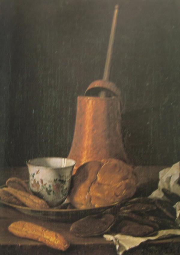 Jedna od umjetničkih slika koje ilustriraju kako su u srednjevjelkovnim samostanima opatice i fratri uživači u čokoladi