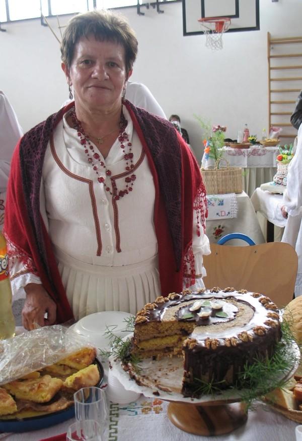 Torta od kukuruzna brašna različitih boja (Snimila Božica Brkan / Oblizeki)