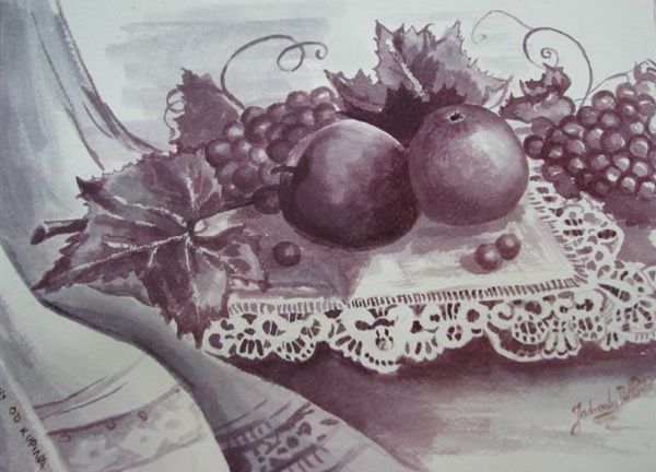 Jadranka Del Ponte ovaj je vinorel nacrtala jedne od prethodnih godina