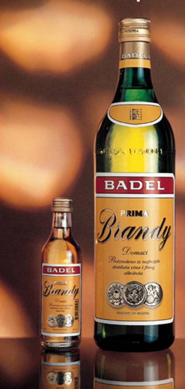 Badelov Brandy do 2004. (Fotografija Badel 1862)