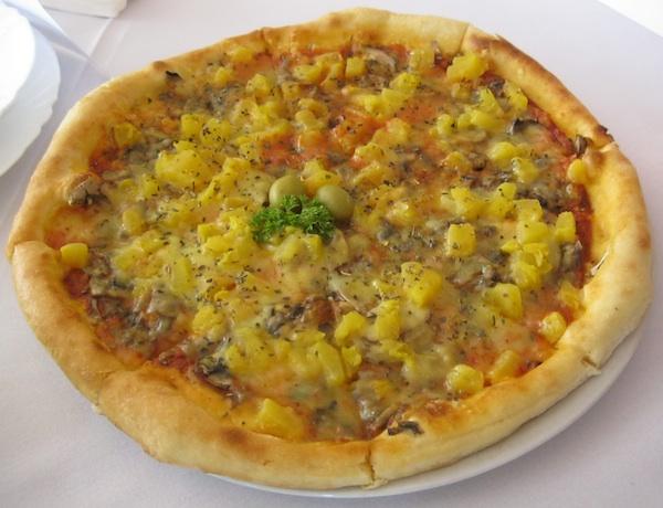 Pizza s bučom na načim pizzerije 4M (Snimila Božica Brkan / Oblizeki)