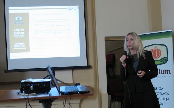 Prof. dr. sc. Sandra Neđeral s Prehrambeno-biotehnološkog fakulteta u Zagrebu (Snimila Božica Brkan / Oblizeki)