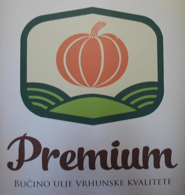 """Logotip """"Premiuma"""" koji će već za godinu dana nositi samo najkvalitetnija, strogo kontrolirana ulja"""