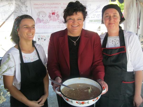 Dame s repom z bažulom, još jednim od starih jela z Dugoga Sela (Snimio Miljenko Brezak / Oblizeki)