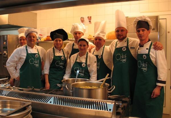 Svi sudionici trećega Zagorskog chefa u BlueSun Hotelu Kaj u Mariji Bistrici (Snimila Božica Brkan / Acumen)