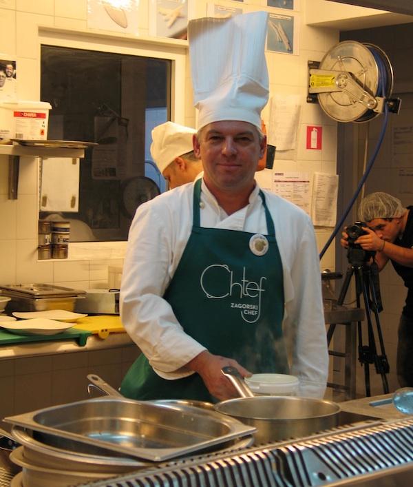Marko Živaljić istražuje u svome restoranu Majsecov mlin zagorske namirnice i zagorsku kuhinju praktično, maštovito i ukusno (Snimila Božica Brkan / Oblizeki)