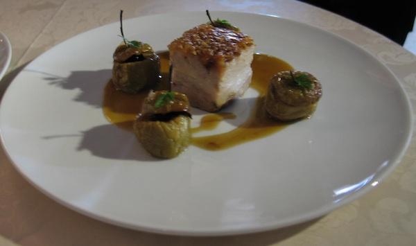 Šarmantno jelo trećeplasiranoga chefa (Snimila Božica Brkan / Oblizeki)