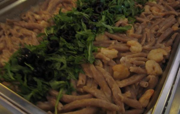 Šurlice od integralnoga brašna sa škampima na način pansiona Maritim (Snimila Božica Brkan)