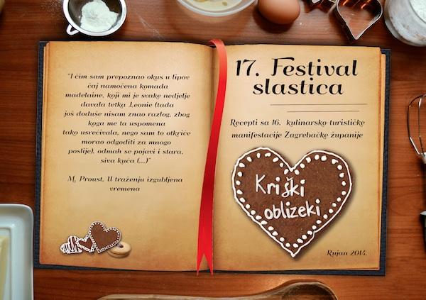 Korice knjižice 17. Festivala slastica