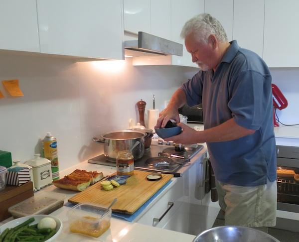 Chef u vlastitoj kuhinji (Snimila Božica Brkan / Oblizeki)